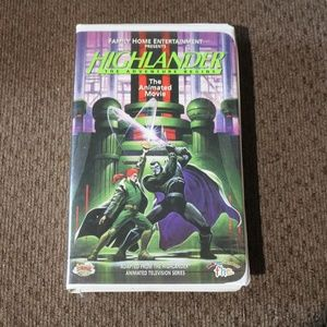 Highlander Cartoon VHS